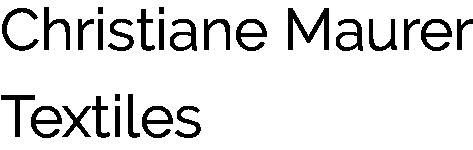 Christiane Maurer Textiles