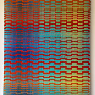 Double Weave 2016 II. 95 x 105 cm.