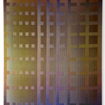 Double Weave 2021. 95 x  125 cm.