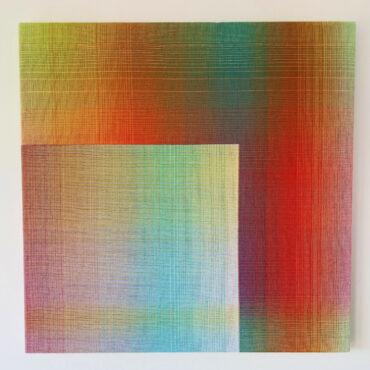 Double Weave 2020 IV, 50 x 50 cm.
