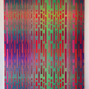 Double Weave 2018. 95 x 125 cm.