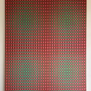 Double Weave 2016. 85 x 100 cm.