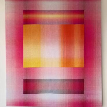 Double Weave 2017. 100 x 90 cm.