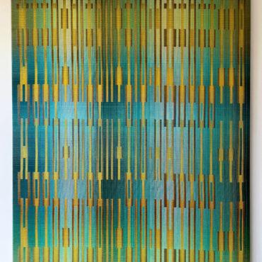 Double Weave 2020 III. 95 x 125 cm.