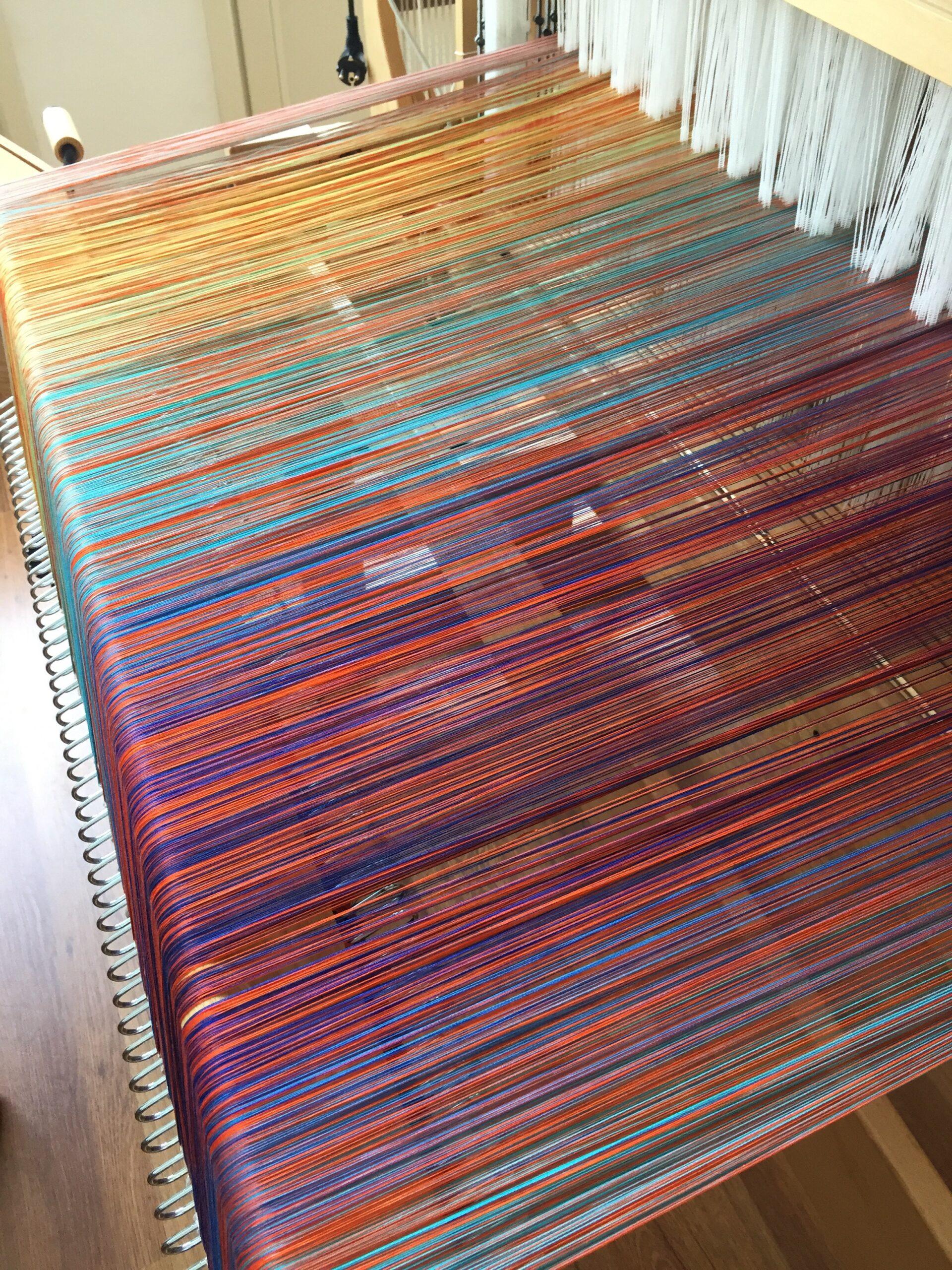 a warp on the loom